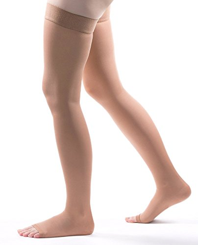 Allegro 20-30 mmHg Microfiber 262 Thigh High Compression Hose