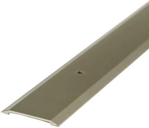 M D Building Products 49010 M D Premium Flat Saddle Threshold 36 In L X 1 3 4 In W X 1 8 In H Aluminum X 1 3 4 W X Satin Nickel Door Thresholds Amazon Com