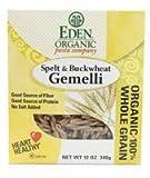 Eden Foods Organic Pasta Company Spelt & Buckwheat Gemelli -- 12 oz