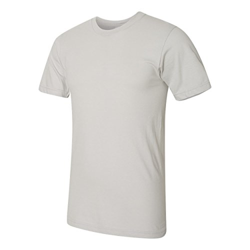 shirt T Apparel American Homme Argent 0wE1Wq5