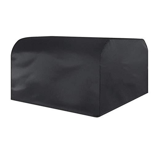 MONFS Home Außenzelt Gartenmöbel Staubschutz Wasserdichter Schutzüberzug Regenschutz Sonnenschutz (Farbe   schwarz, Größe   126x126x74cm)