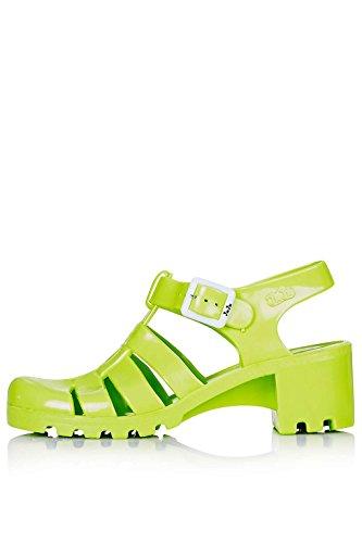 Topshop - Sandalias de vestir de Caucho para mujer Verde