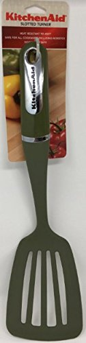 KitchenAid Slotted Turner - Olive Green by KitchenAid