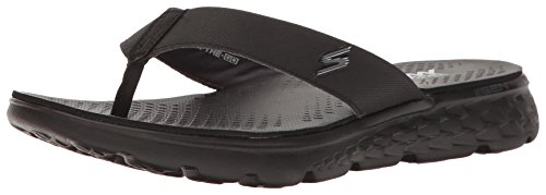 Black Uomo Gray Go Flip Skechers 400 Flop on The wSgxS7qP0