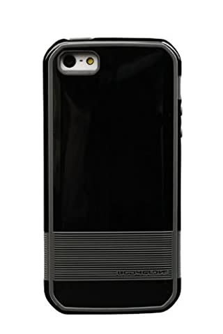 Body Glove Fusion Flex Cell Phone Case for iPhone 5/5s/SE, Black/Charcoal (Body Glove Suit Up Phone Cases)