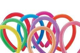 Asst Fashions - Mayflower Balloons 30057 260B Fashion Asst Latex Pack Of 100