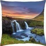 Kirkjufell, Iceland - Throw Pillow Cover Case (18