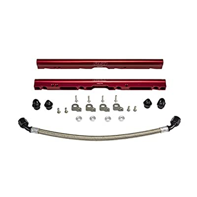 COMP Cams Fuel Rail Adapter Kit, LSXrt 102mm Manifold, Truck Billet Red Rails: Automotive