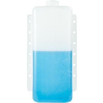 6 Quart Natural High Density Polyethylene Tank w/Mounting Tabs 14.875'' L x 8.50'' W x 4.25'' H (2.25'' Neck)