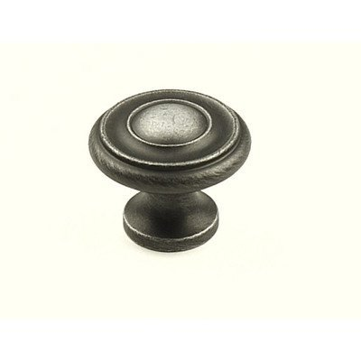 Century Plymouth Hardware (Century Hardware 11426-WP Plymouth Solid Brass Knob, Pewter by Century Hardware)