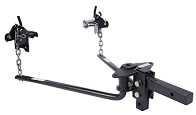 Husky Round Bar Weight Distribution Hitch with Shank Assembly 1001 lb - 1400 lb