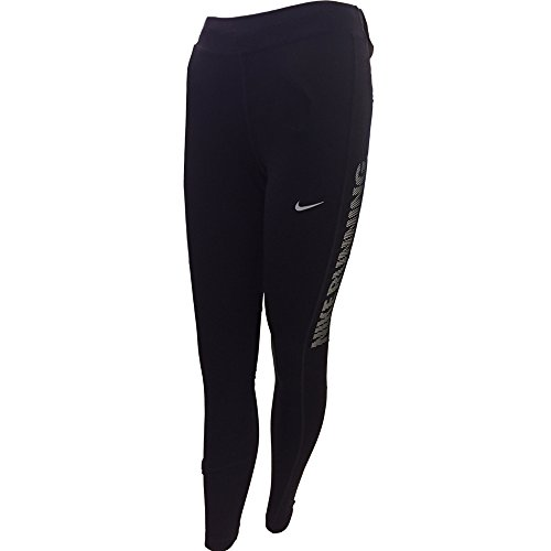 Nike Essential Running Tight Women's Leggings Pants (Black, Medium)