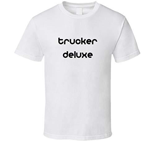 (CarGeekTees.com Wanderlei Silva Trucker Deluxe Wrestling T Shirt XL White)