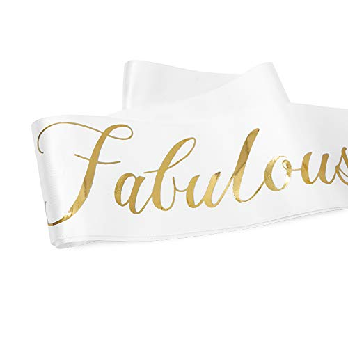 80 And Fabulous Sash