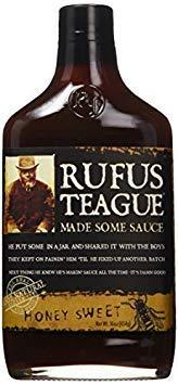 Rufus Teague Honey Sweet BBQ Sauce, 16 oz(454g) (2-Pack)