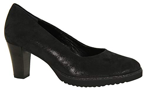 Tacco Blk Gabor Donna Con Fashion Scarpe Shimmer Comfort qvIwrIYXR