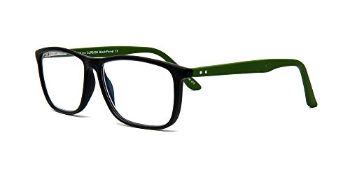 SightLine 6006 Multifocal Reading Glasses +2.00 Progressive Magnification Lenses With Anti-Glare Coating; Frame Size: (Catalog Plastic Models)