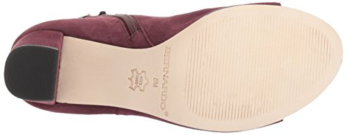 Boot Bordeaux Women's Suede Fashion Honour Bernardo RqxzwPYR