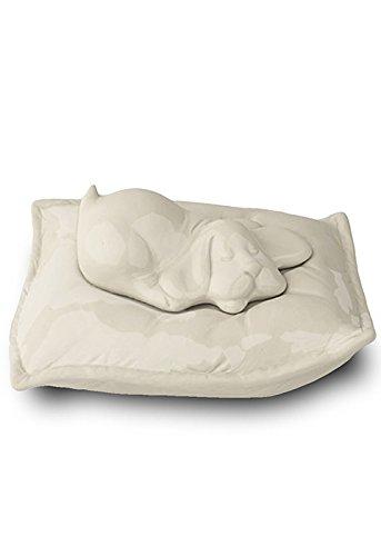 LegendURN Pet cremation ashes urn 'Sleeping dog'