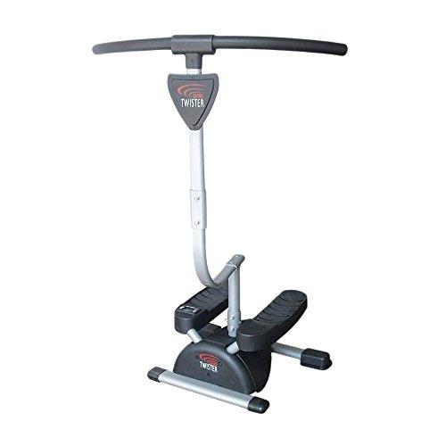 Fitness House Cardio Twister - Aparato para piernas y glúteos, Color Gris, Talla única 889957338257