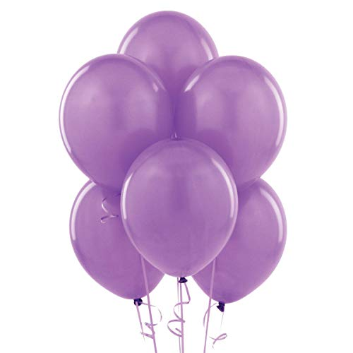 12 Inch Latex Balloons , Pack of 100, Lavender