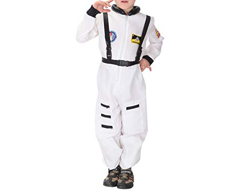 Halloween Costume Police Boys Carnival Party Clothes Dance Child,White,XL -