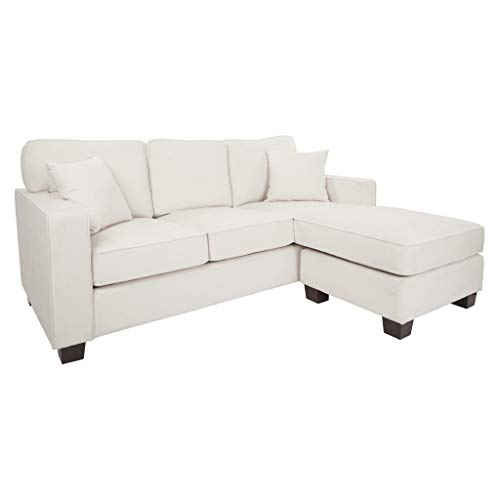 Ave Six Russell Sofa, Ivory -