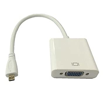 micro entrada HDMI a salida de monitor de pc proyector convertidor ...