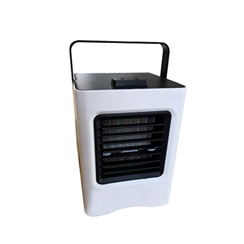 (Yucode Personal Air Conditioner Fan Desktop Fan Quiet Mini Evaporative Humidifier Bladeless Quiet for Office Black)