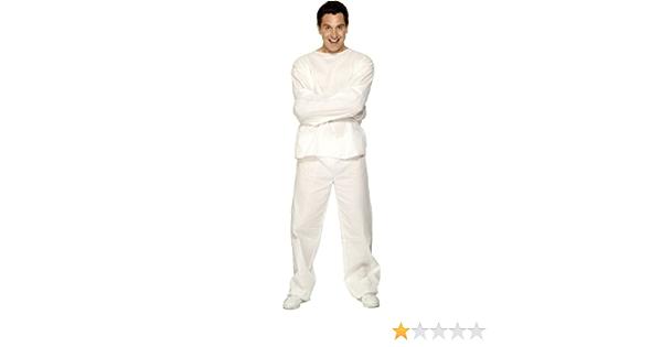 Smiffys - Disfraz de camisa de fuerza para hombre, talla L (29971)