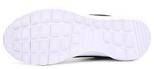 Dear-Queen Lightweight Fashion Sneakers Casual Sport Shoes For Womens Black E81ZSajFzB