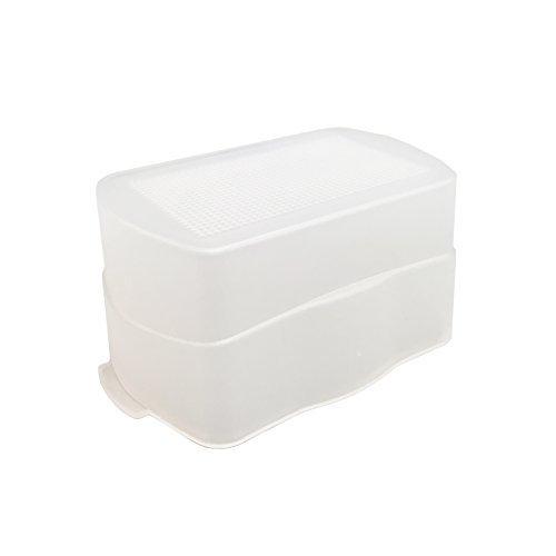 Price comparison product image White Plastic Speedlite Flash Diffuser 1pc for Yongnuo YN565,  YN560 I II II & YN565EX