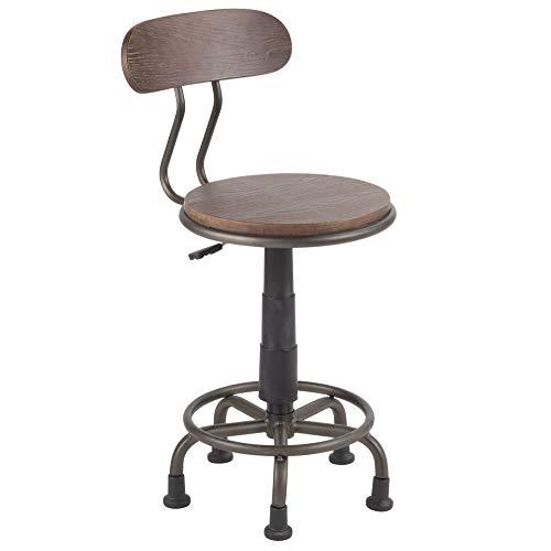 Industrial Task Chair in Espresso