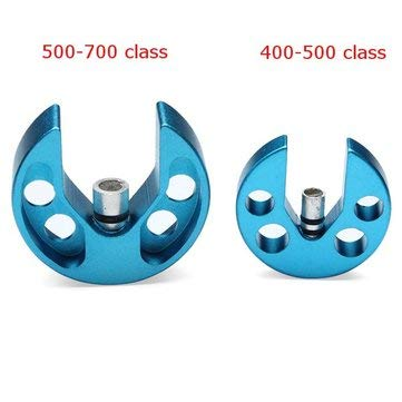 RC Toys & Hobbies RC Helicopter Parts - FC Aluminum Alloy Swashplate Level for 400-500 500-700 RC Helicopter - 400-500class - 10x 5040 CW/CCW - 500 Class Helicopter