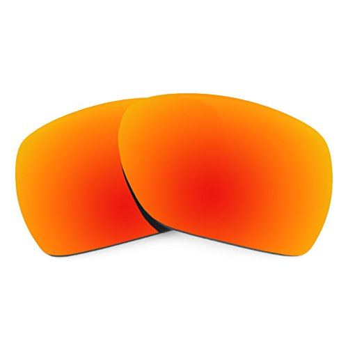 Revant Polarized Replacement Lenses for Oakley Deviation Fire Red - Lenses Fire