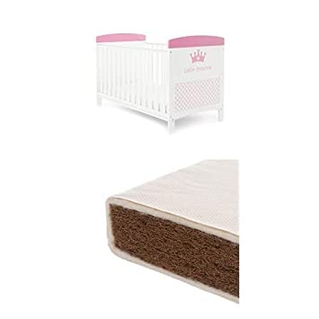 Little Princess Obaby Grace Inspire Cot Bed and Pocket Sprung Mattress