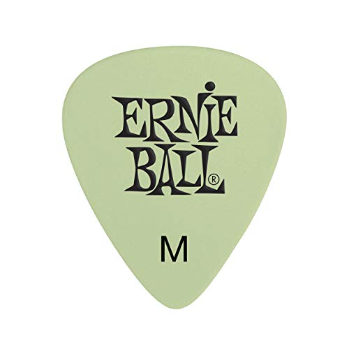 - Ernie Ball PO9225 Super Glow Picks Medium 12-Pack