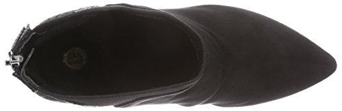 look Stiefeletten Negro Botas Sude Strada La Material Schwarze Mujer Schwarz Sinttico Black De Micro 2201 yZtyA