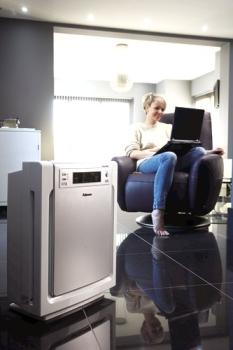 Fellowes PlasmaTRUE Allergy UK approved Air Purifiers protect homes against airborne pollutants