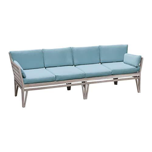 Guildmaster 2318004S-SO Newport 26 X 20 inch Sea Green Outdoor Sofa Cushion, - Newport Ceiling Chandelier