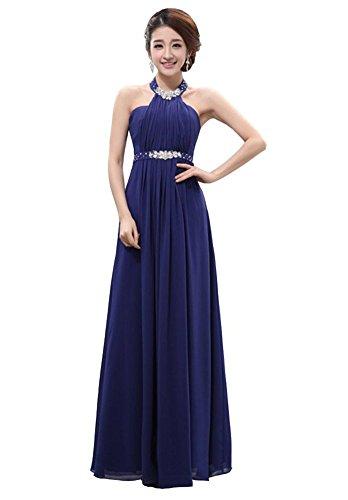 Damen Drasawee Kleid Drasawee Blau Damen Empire Kleid Empire W6Upcqg