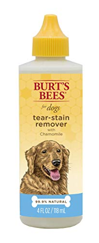 Burt's Bees for Dogs Natural Tear Stain Remover with Chamomile | Tear Stain Remover for Dogs Or Puppies, 4oz (Best Dog Stain Remover)