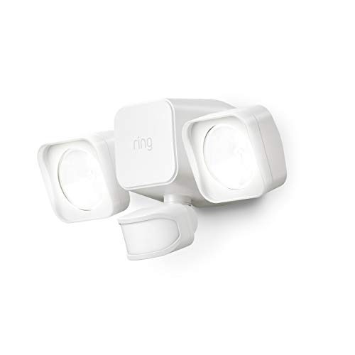 Introducing Ring Smart Lighting -  Floodlight, Battery - White ()