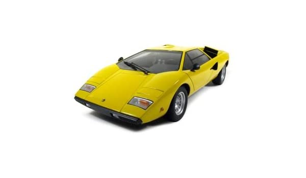 Kyosho Original 1 12 Lamborghini Countach Lp400 Yellow Cars