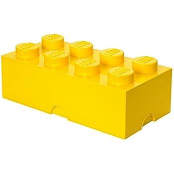 LEGO Storage Brick 8, Yellow