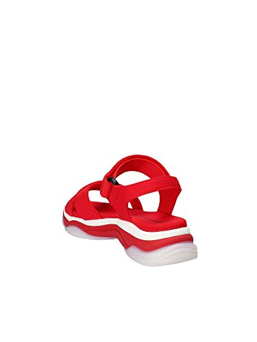 Sandales rosso Fornarina Rouge Ouvert Super20 Femme Bout R4w5wFqA