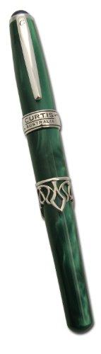 curtis-australia-dream-writer-facets-velvet-roller-ball-green-drw005gvrb