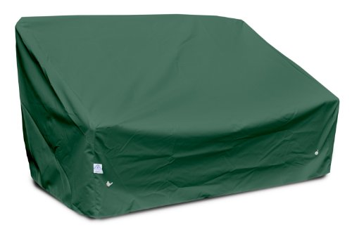 KoverRoos Weathermax 69550 Deep Highback Loveseat/Sofa Cover, 60-Inch Width by 35-Inch Diameter by 35-Inch Height, Forest Green by KOVERROOS