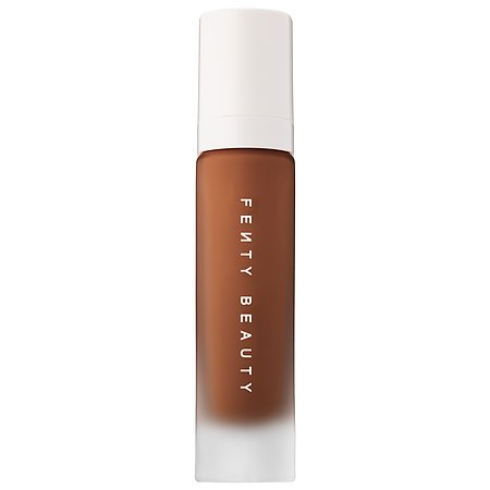 (1) FENTY BEAUTY BY RIHANNA Pro Filt'r Soft Matte Longwear Foundation COLOR: 470 - for very deep skin with neutral undertones and subtle red tones