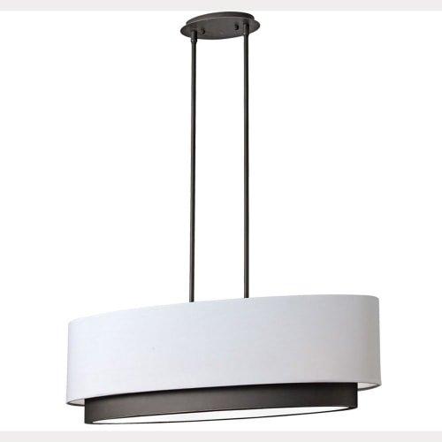 Oval Drum Light Pendant in US - 4